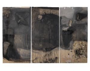 Jean-Pierre Bronze, 2008, Sans titre, 244 x 366 cm.