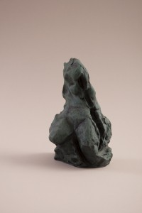 Andromède  Terre cuite, 25 x 15 x 14 cm, 2002