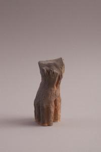 Main tel un corps I Four à bois, 20 x 10 x 8 cm, 2012