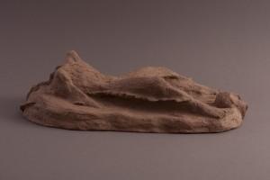 Golem Terre cuite, 15 x 48 x 26 cm, 2003
