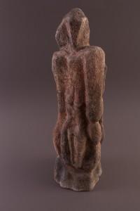Femme verticale II   Four papier,  71,5 x 23 x 24 cm, 2009