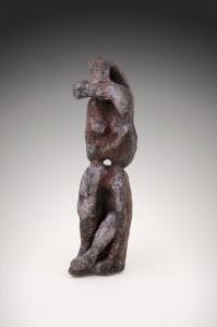Femme désarticulée I  Terre cuite au four papier,  57,5 x 26 x 27 cm, 2008