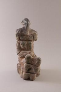 José Strée, Femme assise IV, 42 x 16 x 28 cm, 2012