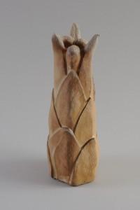 Vegetalis VIII, Four à bois, 32 x 12 x 12 cm, 2018