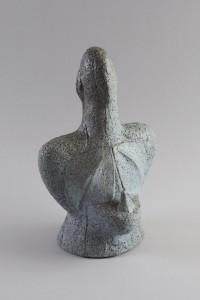 Vegetalis XXVI, Four à bois, 38,2 x 25,3 x 19,8 cm, 2018