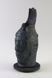 Le siège de la conscience I, Four à bois, 50 x 20 x 28 cm, 2017