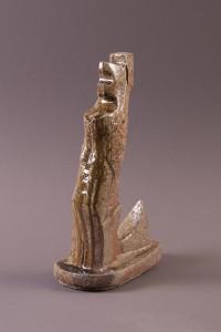 Mariée, Terre cuite au four à bois,  37,5 x 22 x 13 cm, 2013