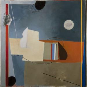 Composizione II, 65 x 65 cm, 2016