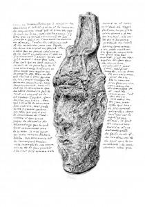 Crayon sur papier Sennelier 24 x 32 cm, 2018