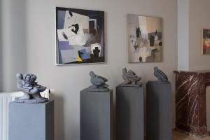 Vue de l'exposition de Liège