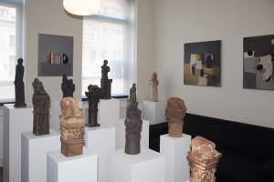 """Vue de l'exposition de Liège à l'Espace d'exposition temporaire """"Le 55"""""""