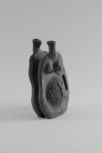 Vegetalis LIII, Four à bois, 31 x 22,5 x 14 cm, 2019