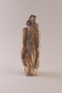 Femme verticale I Four papier, 41 x 14 x 9 cm, 2009
