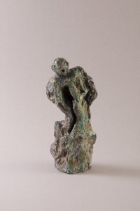 Le Cri Raku, 30,5 x 13,5 x 12 cm, 2012