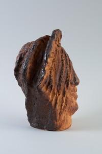 Tête rousse, Four à bois, 34 x 23 x 23 cm, 2017