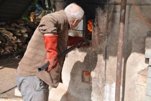Robert Pagura en bon gestionnaire du feu.