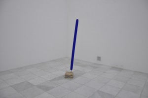Oeuvre d'Yves Klein à Insel Hombroich
