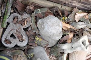 Disposition des pièces crues