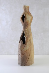 Vegetalis XVII, Four à bois, 92 x 25 x 26 cm, 2018