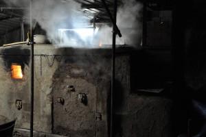 Lors de la cuisson le four évapore son humidité.