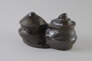 Vegetalis, Four à bois, 16 x 29 x 12,5 cm, 2021